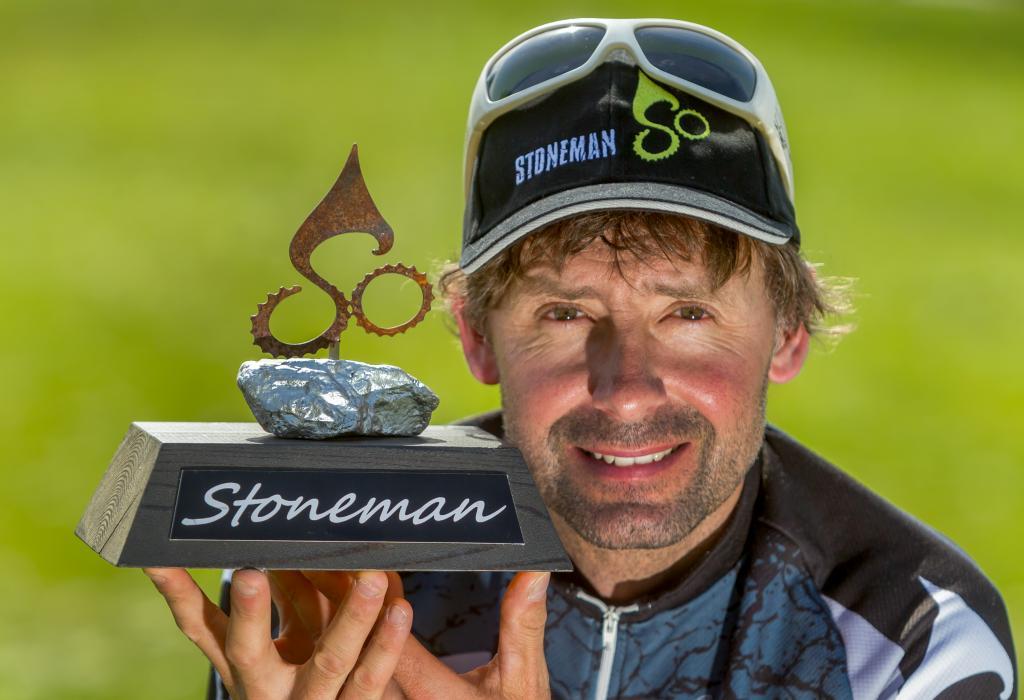 """03.08.2013 - Seiffen: Der ehemalige Mountainbike Profi Roland Stauder will in Oberwiesenthal eine """"Stoneman"""" Strecke aufbauen.    Foto: Uwe Meinhold   Tel.:0171/4206939, e-Mail: uwemeinhold@aol.com"""