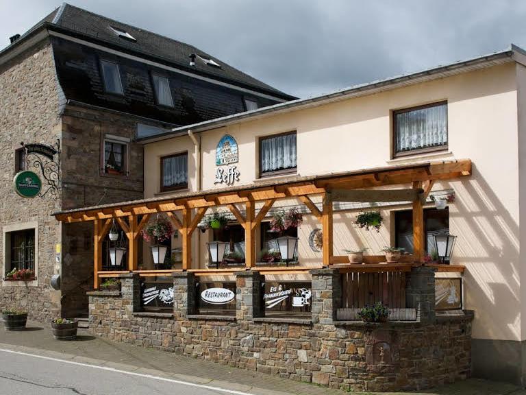 Hotel-Restaurant-Whiskybar Zur Alten Schmiede, city – Logis-Partner Stoneman Arduenna MTB