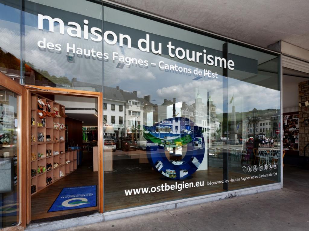 Haus des Tourismus Hohes Venn, city – Logis-Partner Stoneman Arduenna MTB