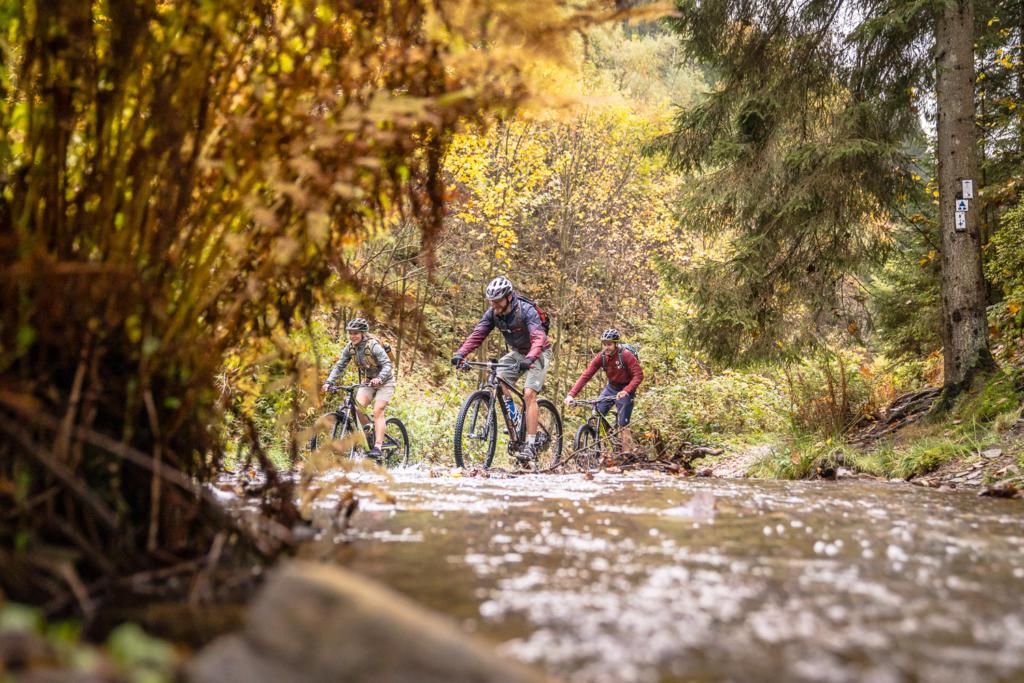 Mountainbike Flusstour Ardennen