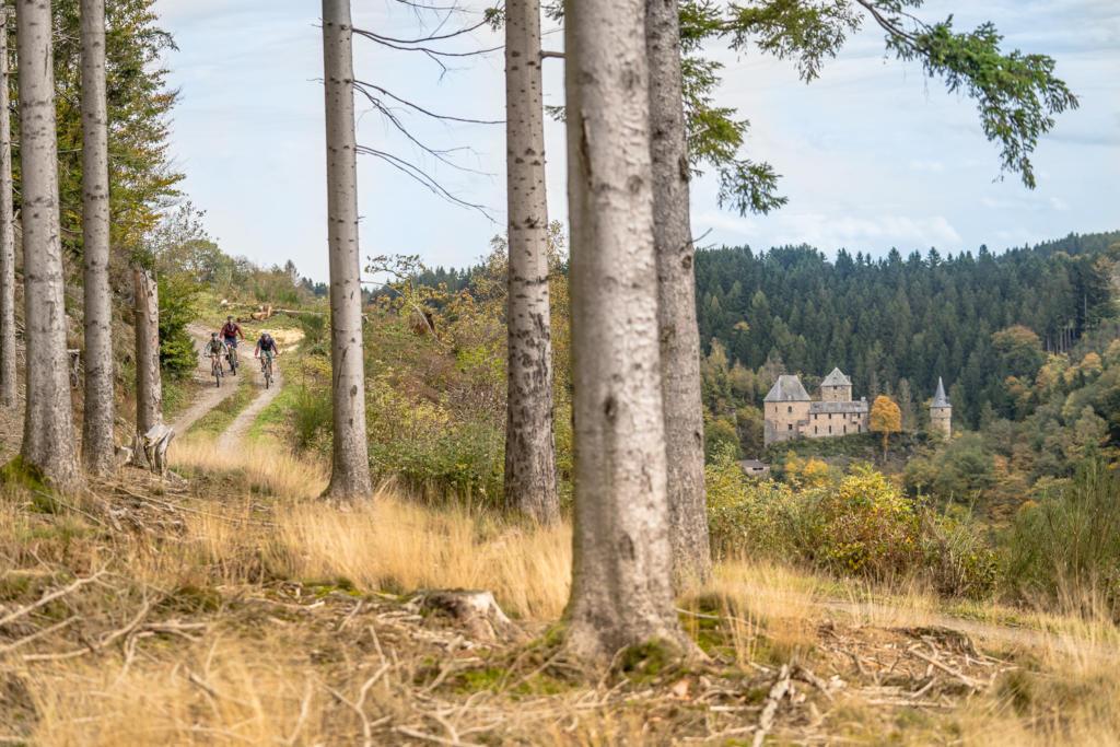 Mountainbike Burgentour Ardennen Eifel